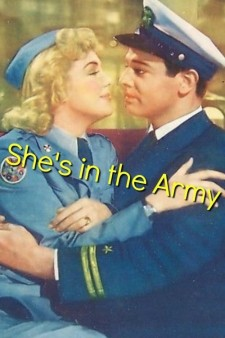 She's in the Army