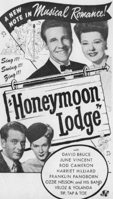 Affiche du film Honeymoon Lodge