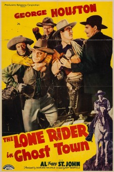 Affiche du film The Lone Rider in Ghost Town