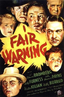 Affiche du film Fair Warning