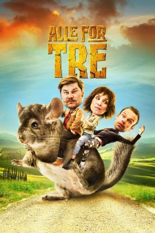 Affiche du film Alle for tre