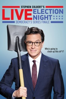 Stephen Colbert's Live Election Night Democracy's Series Finale
