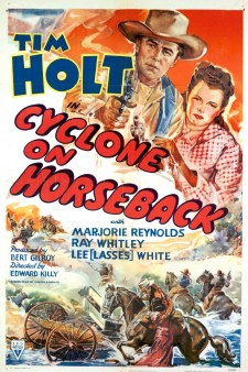 Affiche du film Cyclone on Horseback