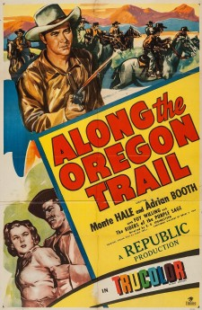 Affiche du film Along the Oregon Trail