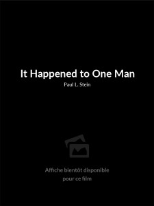 It Happened to One Man