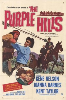 Affiche du film The Purple Hills