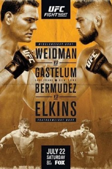 UFC on Fox 25: Weidman vs Gastelum