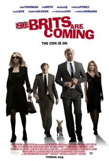 Affiche du film The Brits Are Coming