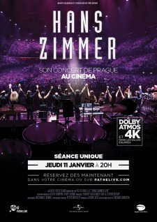 Affiche du film Hans Zimmer - Live in Prague