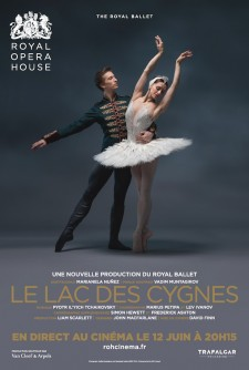 affiche du film Le Lac des Cygnes (Royal Opera House)