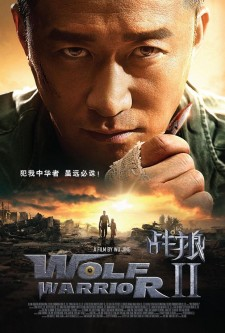 Affiche du film Wolf Warrior 2