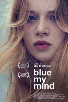 affiche du film Blue My Mind