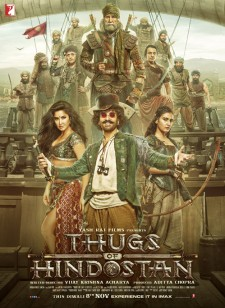 affiche du film Thugs of Hindostan
