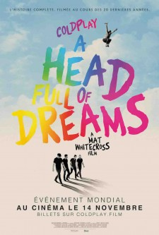 affiche du film Coldplay: A Head Full of Dreams