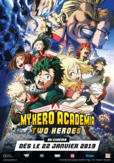 affiche du film My Hero Academia : Two Heroes (CGR Events 2019)