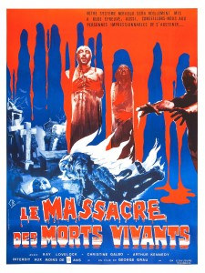 Affiche du film Le Massacre des morts-vivants