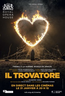 Affiche du film Il trovatore (Royal Opera House)