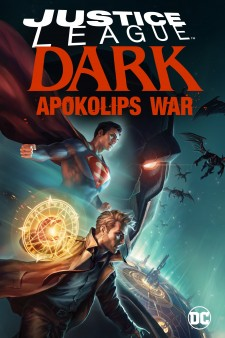 Affiche du film Justice League Dark: Apokolips War