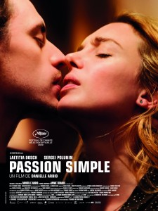 Affiche du film Passion simple