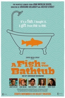 Affiche du film A Fish in the Bathtub