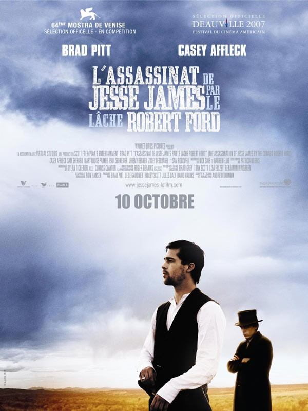 Affiche du film L'Assassinat de Jesse James par le lâche Robert Ford