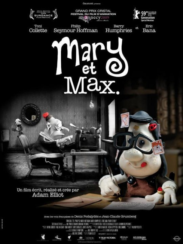 Affiche du film Mary et Max.