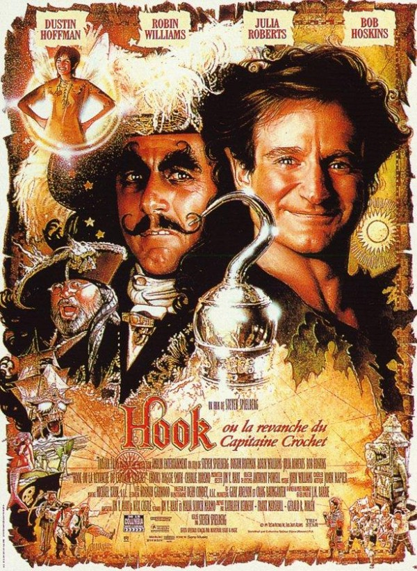 Affiche du film Hook ou la Revanche du capitaine Crochet