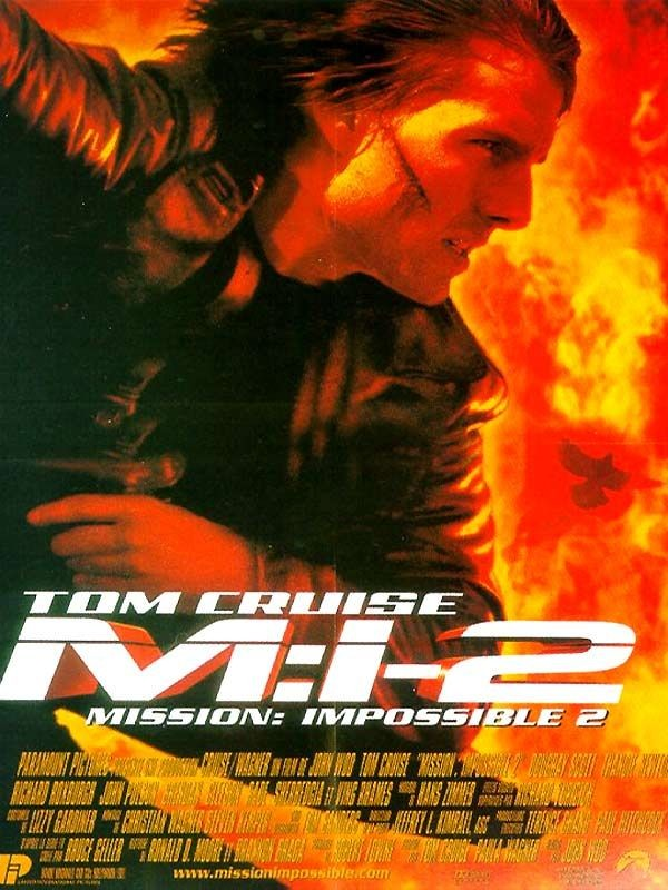 Affiche du film Mission impossible 2
