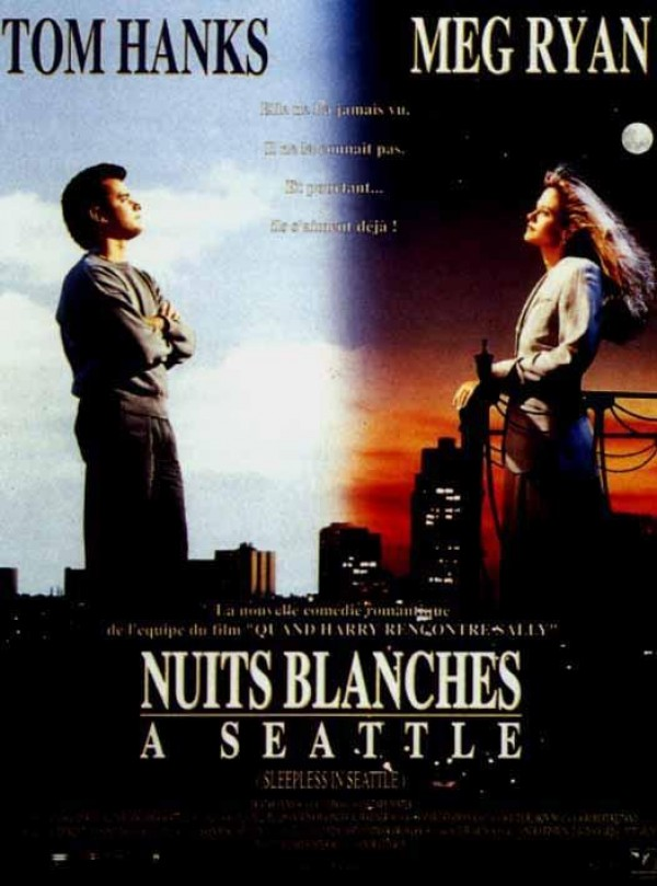Affiche du film Nuits blanches a seattle