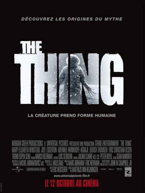 Affiche du film The Thing