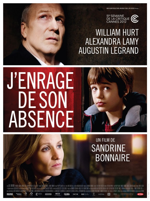 Affiche du film J'enrage de son absence