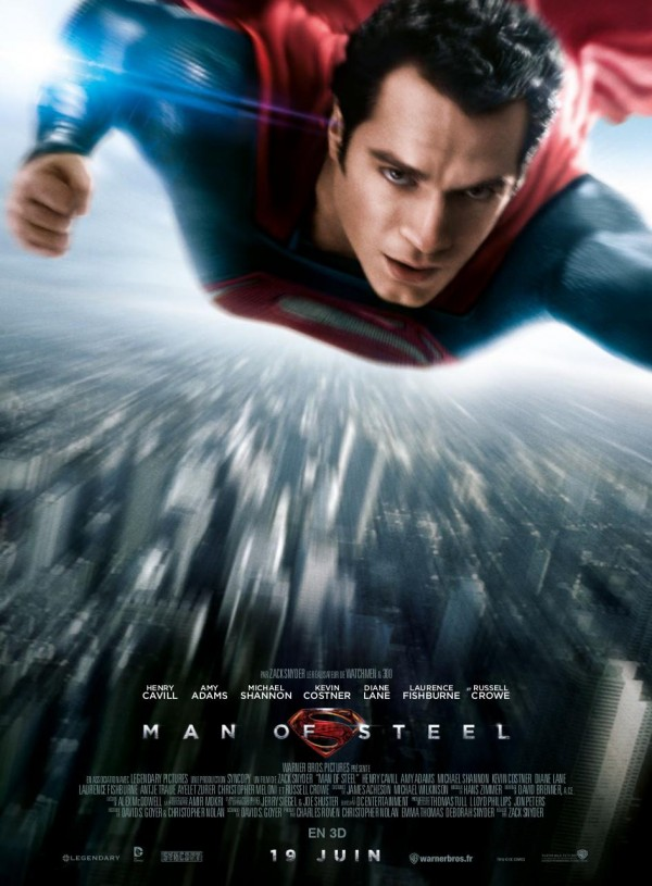 Affiche du film Man of Steel