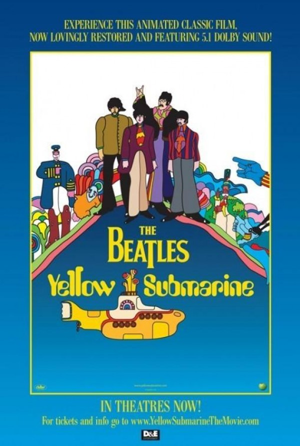 Affiche du film Yellow Submarine