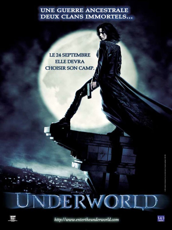 Affiche du film Underworld