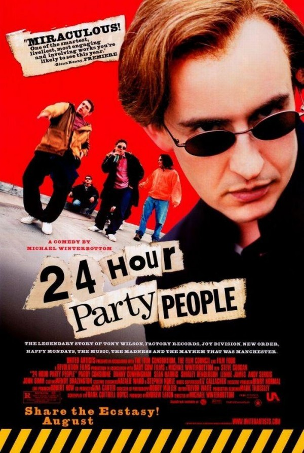 Affiche du film 24 Hour Party People