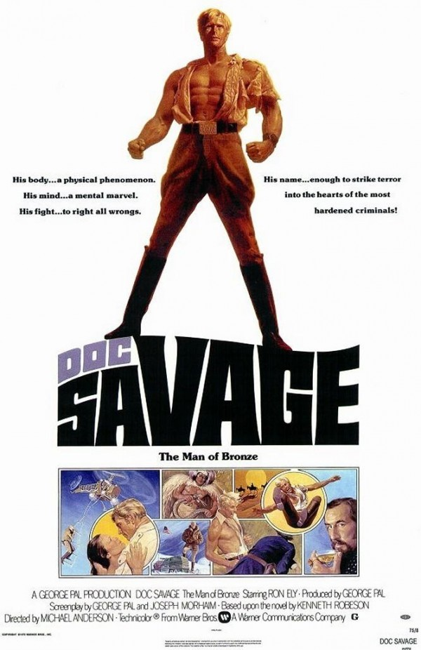 Affiche du film Doc Savage arrive