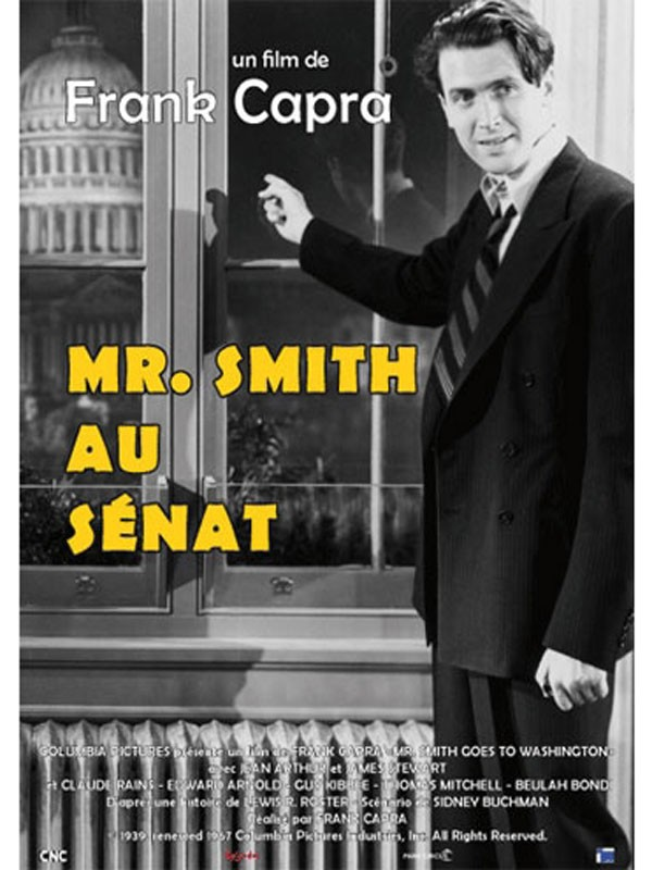 Affiche du film Monsieur Smith au Sénat