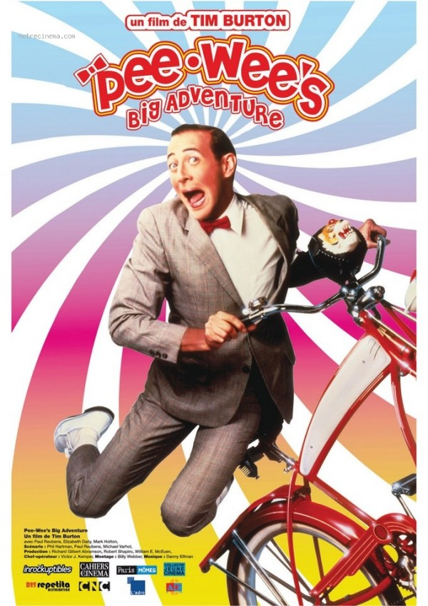 Affiche du film Pee-Wee Big Adventure