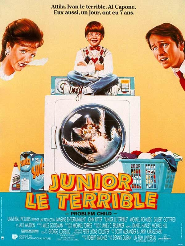 Affiche du film Junior le terrible