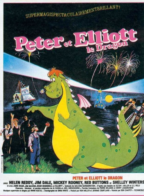 Affiche du film Peter et Elliott le dragon