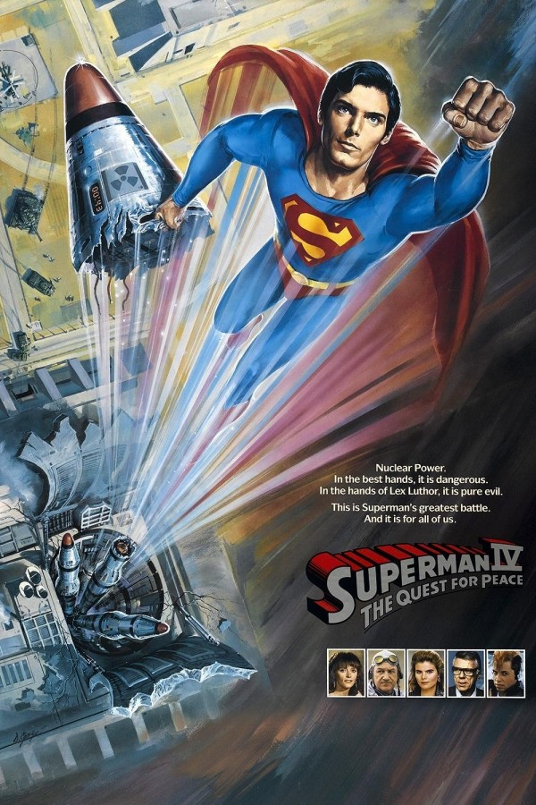 Affiche du film Superman 4