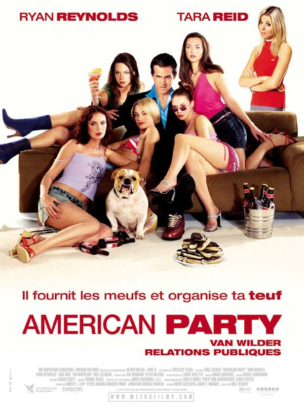 Affiche du film American Party, Van Wilder relations publiques