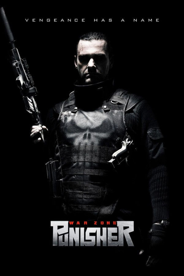 Affiche du film The Punisher : Zone de guerre