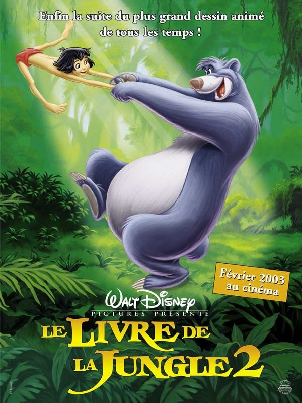 Affiche du film Le Livre de la jungle 2