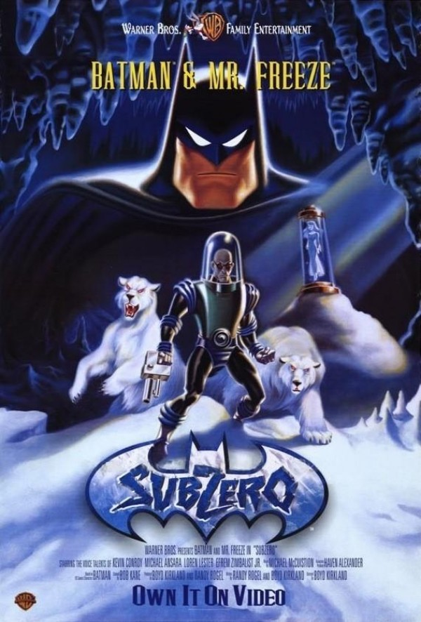 Affiche du film Batman & Mr Freeze : SubZero