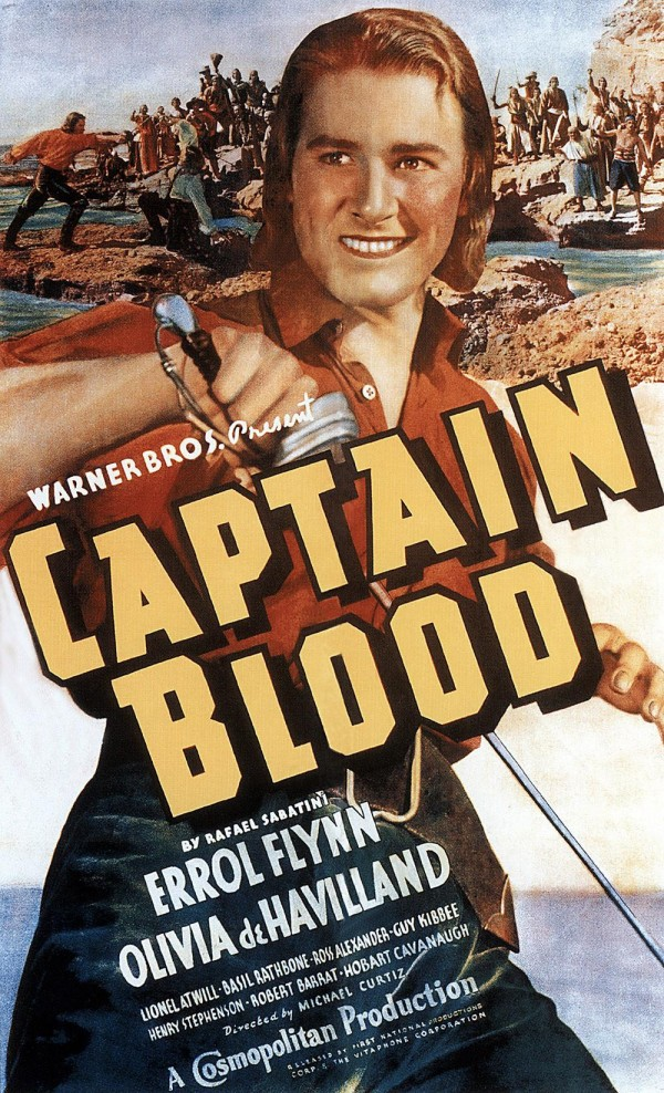 Affiche du film Capitaine Blood