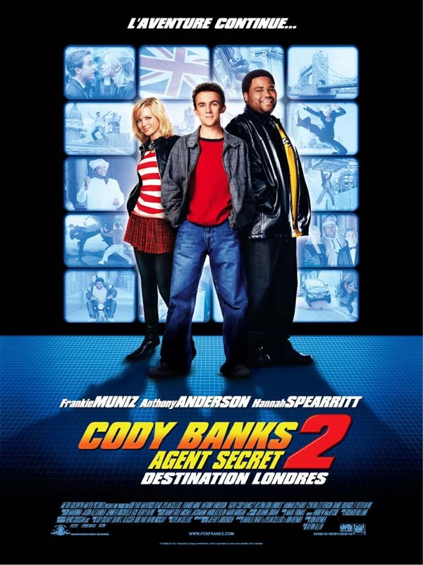 Affiche du film Cody Banks, agent secret 2 : Destination Londres