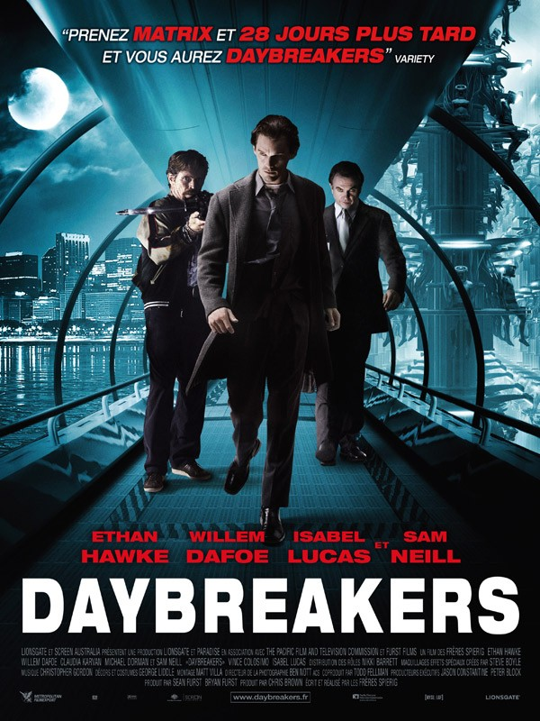 Affiche du film Daybreakers