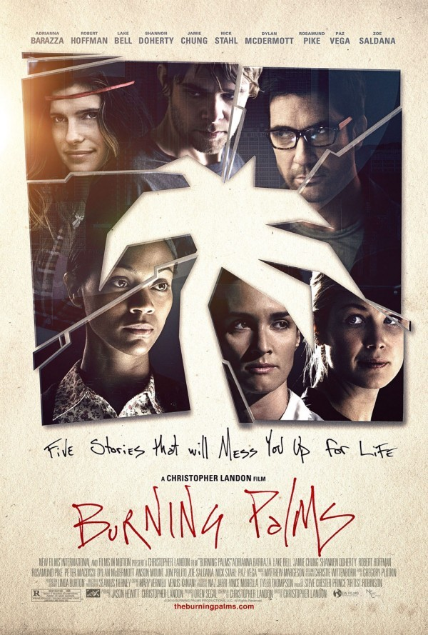 Affiche du film Burning Palms