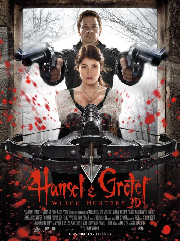 Affiche du film Hansel et Gretel : Witch Hunters